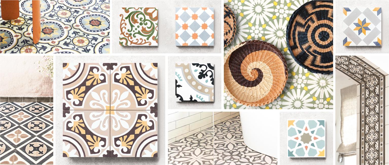 mosaico Hidráulico, clásico tema