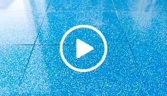 Maintenance of encaustic cement tiles - video