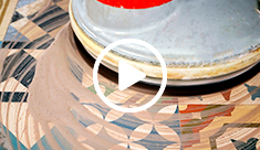 Clean an aged or stained encaustic cement tiles floor - video