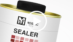 Tratamento com selante (Mosaic Sealer) - video